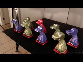 �������� ���������� ������� - ���������� ����  Amazing T-Rex Illusion