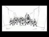 Три Богатыря против 300 Спартанцев-300 Spartans vs Three russian bogaturs (part 3-6)