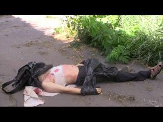 Русские военные очень мирные. Просто стреляют по людям и всё !