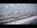 Проект моста в Крым через Керченский пролив, соединяющий Черное и Азовское моря